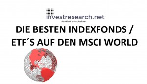 MSCI World Index bester ETF