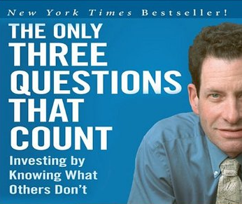 The only three questions that count – Ken Fisher