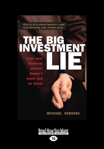 The Big Investment Lie – Michael Edesess