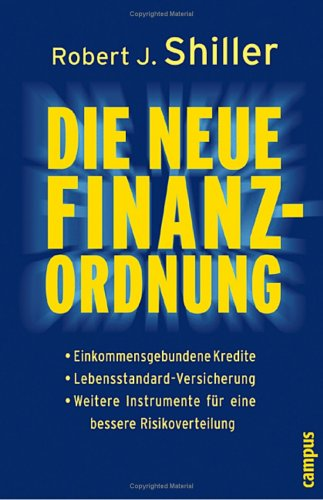Die neue Finanzordnung (The new financial order) – Robert J. Shiller
