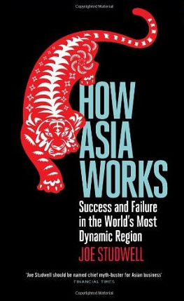How Asia works – Joe Studwell
