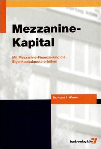 Mezzanine Kapital – Horst Werner
