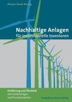 Nachhaltige Anlagen für institutionelle Investoren – Mirjam Staub-Bisang