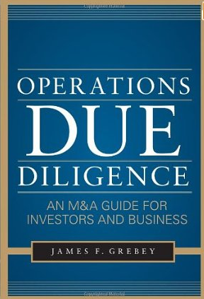 Operations Due Diligence – James F. Grebey