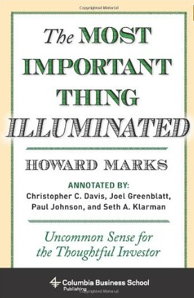 The most important Thing – Howard Marks