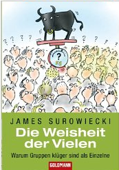 Die Weisheit der Vielen (The wisdom of crowds) – James Surowiecki