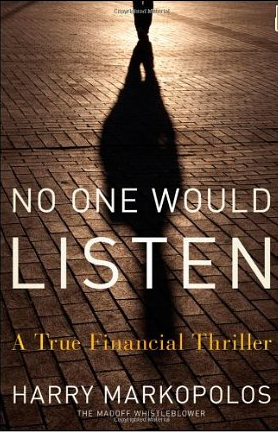 No one would listen – Harry Markopolos