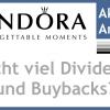 Pandora Aktie: Globaler integrierter Schmuckkonzern wird zum Turn Around Fall