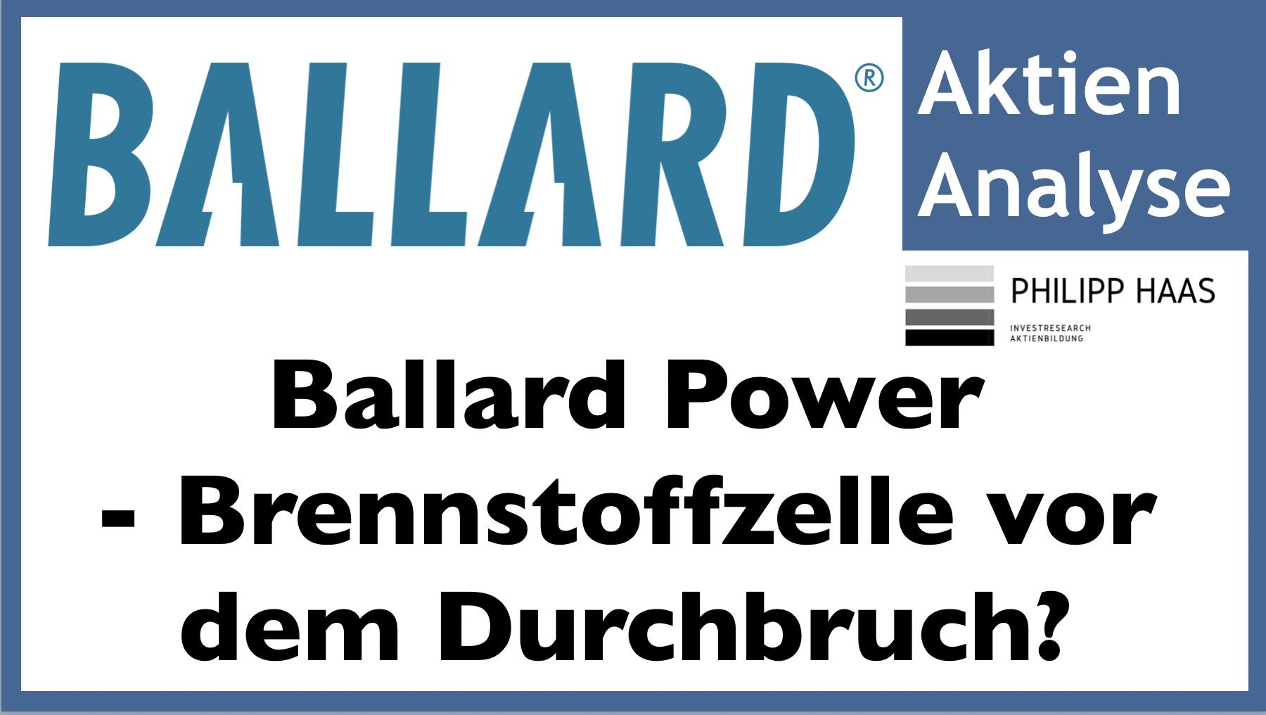 Aktie Ballard Power Heute