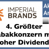 Imperial Brands: Reichen über 10% Dividende um die Tabakrisiken aufzuwiegen?