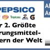 PepsiCo (PEP) Aktie: der 2. größte Nahrungsmittelkonzern der Welt