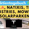 Tesla, Natixis, Thor Industries, Mowi, 7C Solarparken - Aktientagebuch 22.12.2019