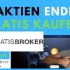 Gratisbroker - So endlich Aktien und ETF`s gratis kaufen - Test+Erfahrung bei Kontoeröffnung und Aktienkauf