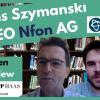Hans Szymanski - CEO Nfon AG (Cloudtelefonanlagen) - Interview - Wir wollen Marktführer in Europa werden!