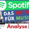 Spotify Aktie: Das neue Netflix für Musik? - Marktführer auch gegenüber Apple Music!