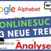 Alphabet / Google Aktie: Cloud, Youtube und autonomes Fahren kommt nach der Suche? Aktienanalyse