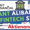 Alipay / Ant Group Aktie - die Fintech Tochter von Alibaba vor dem grössten Börsengang der Welt?