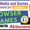 Interessante Strategie bei Gaming: Media & Games Invest (MGI) Aktie (Ex Gamigo) - Florian Homm Aktie
