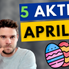 5 Aktienkäufe April - Warum ich Facebook, Baidu und 3 unbekanntere Aktien im April kaufe